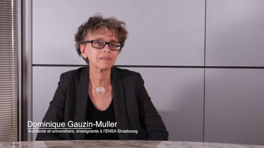 Dominique Gauzin-Muller parle de la rareté du sable
