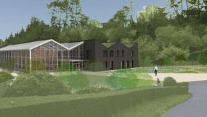 Le conservatoire botanique national de Brest a fait le choix de la paille comme matériau isolant