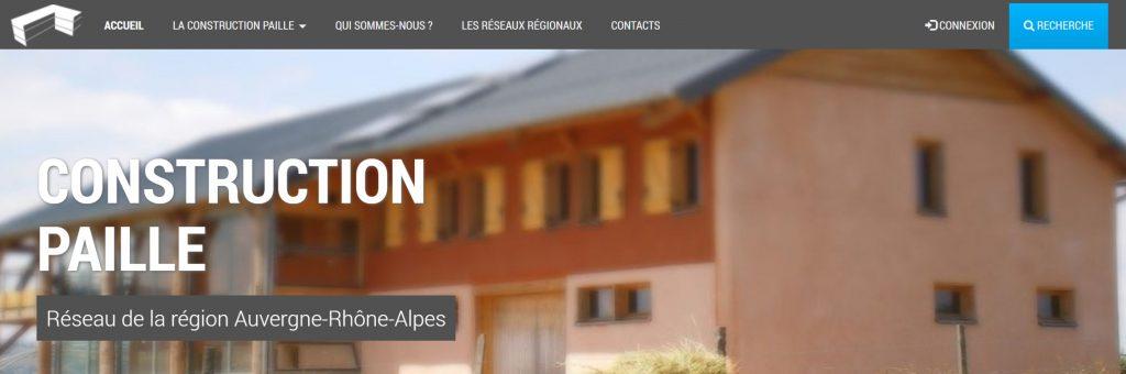 Site constructionpaille.fr région Auvergne-Rhône-Alpes