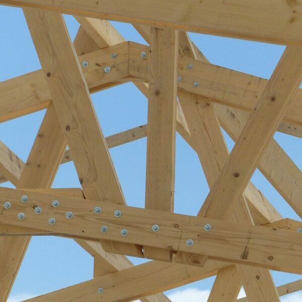 Charpente pour illustrer formation module complémentaire charpentier