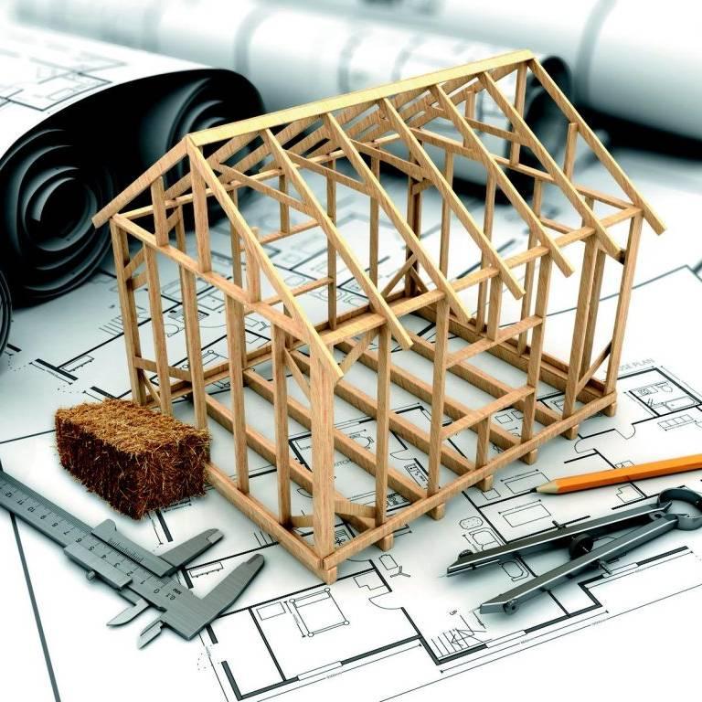 Maquette ossature bois sur plan